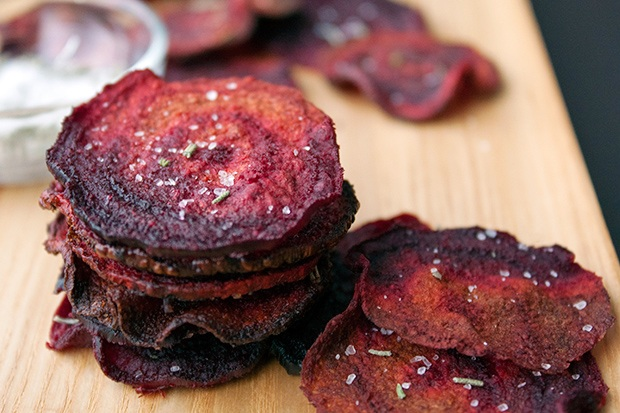 Healthy Super Bowl Snacks: Beet Chips Recipe