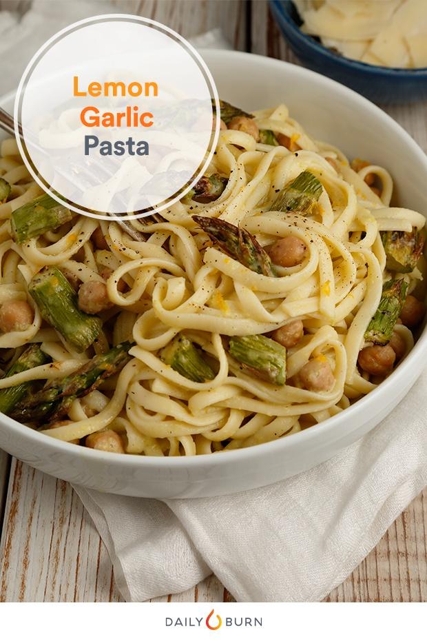 Winter Olympics Meals: Creamy Lemon-Garlic Pasta