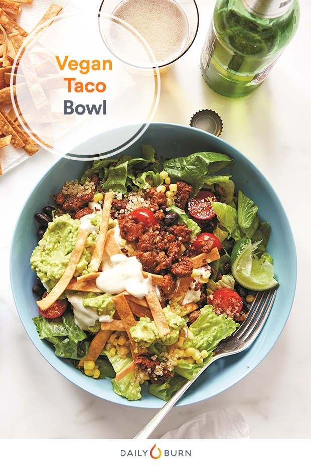 Vegan Taco Bowl Recipe