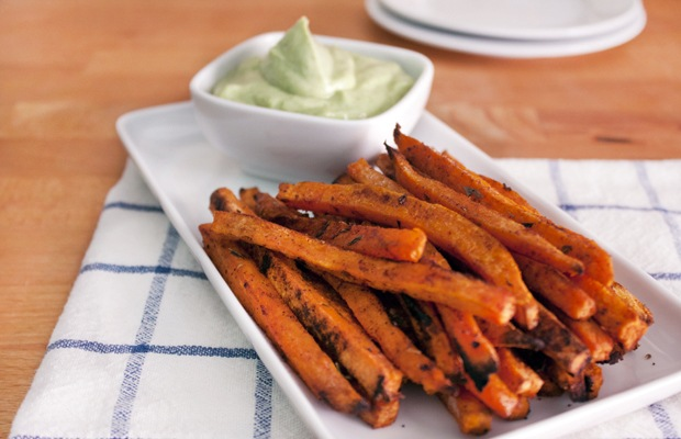 Healthy Super Bowl Snacks: Sweet Potato Fries