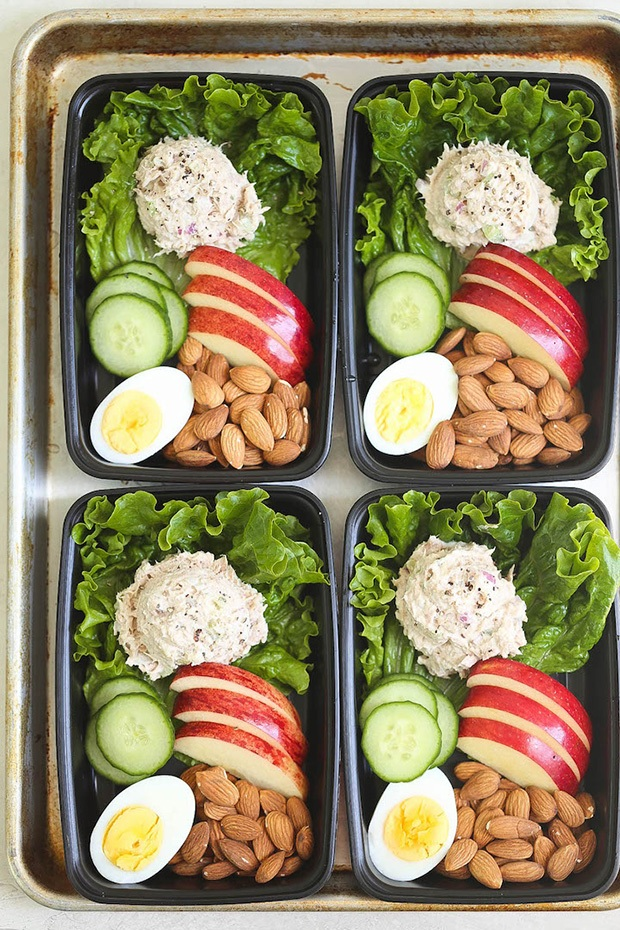 Healthy Packed Lunches: Tuna Salad