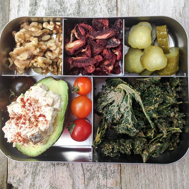 Healthy Packed Lunches: Avocado Chicken Salad
