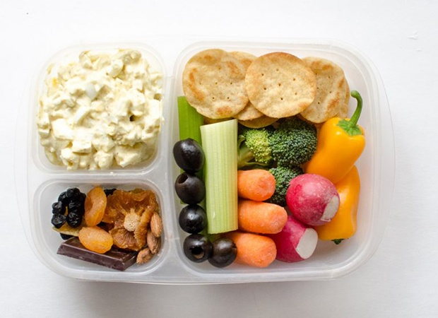 Healthy Packed Lunches: Egg Salad