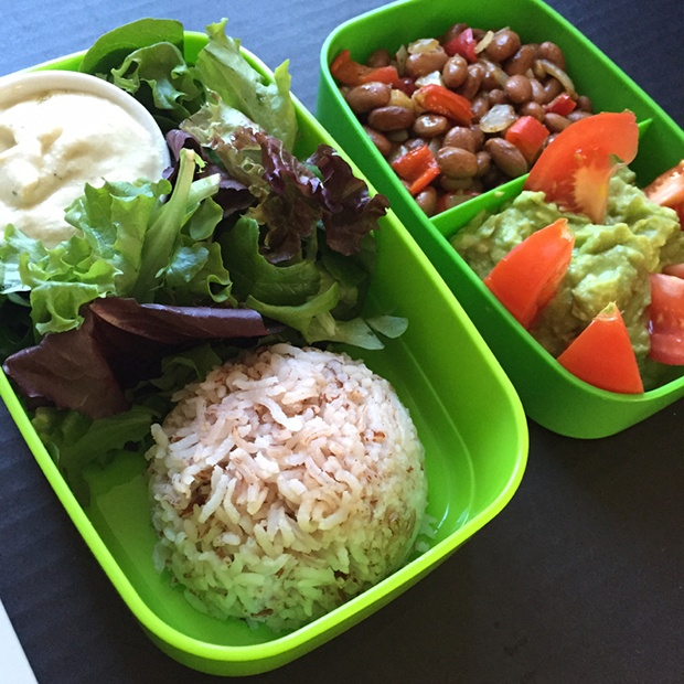 Healthy Packed Lunches: Meatless Mexican