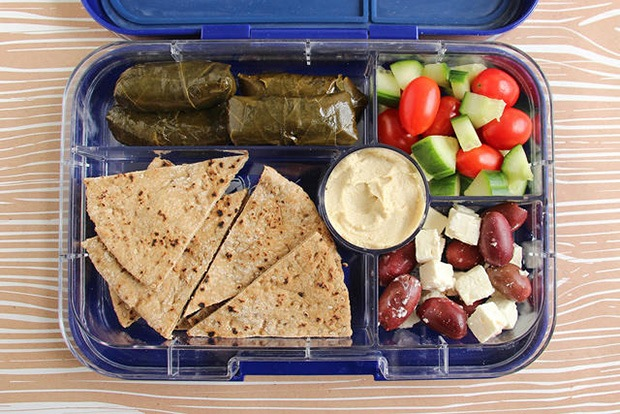 Healthy Packed Lunches: Mediterranean Mezze