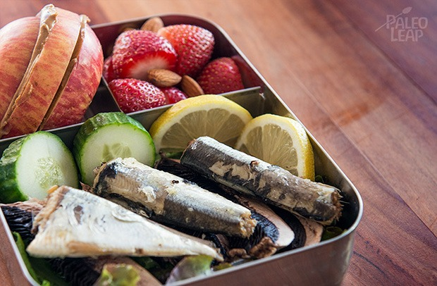 Healthy Packed Lunches: Sardines