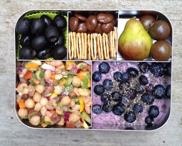 Healthy Packed Lunches: Snack Box
