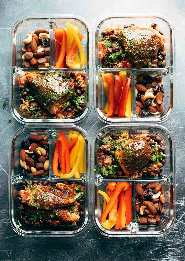 Healthy Packed Lunches: Spicy Chicken