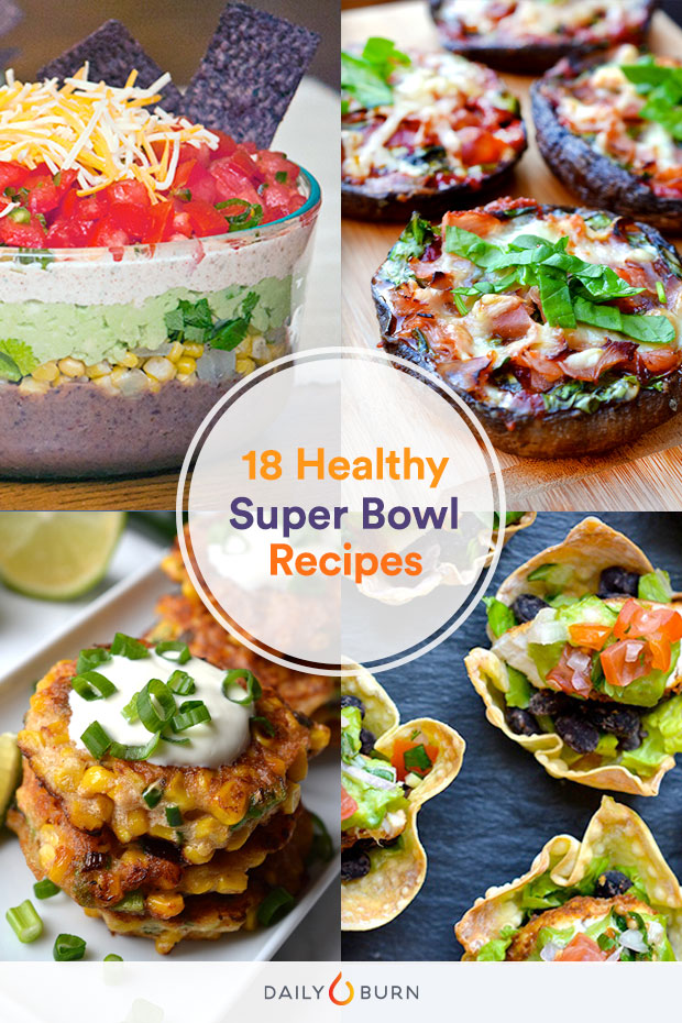 18 Healthy Super Bowl Snacks Recipes