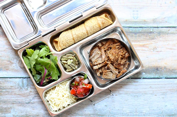 Healthy Packed Lunches: Tacos