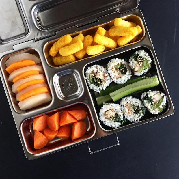 Healthy Packed Lunches: Tofu Sushi